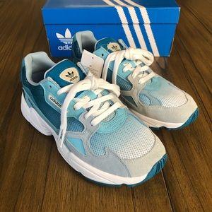 Adidas falcon sneakers chunky dad shoe chunky